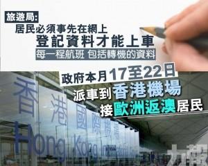 旅遊局:居民必須登記資料才能上車