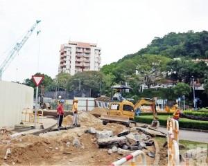 媽閣交通樞紐工程預計第二季完工