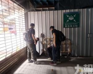 三內地漢被治安警拘捕