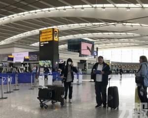 外交部:明增航班赴英國