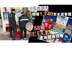58歲店鋪負責人遭海關檢控
