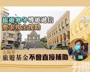 文綺華:旅遊基金不會直接補助