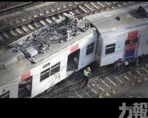 韓國首爾載逾百人列車出軌