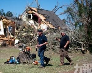龍捲風襲美國南部增至33死