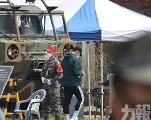 孫興民入營接受3周軍事訓練