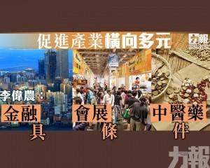 李偉農:金融會展中醫藥具條件