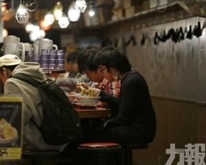 日本民眾懶理「自肅」命令