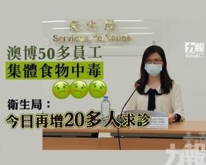 衛生局:今日再增20多人求診