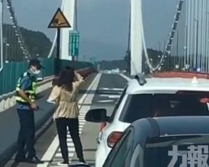 廣東虎門大橋異常抖動封橋