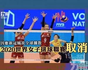 2020世界女子排球聯賽取消