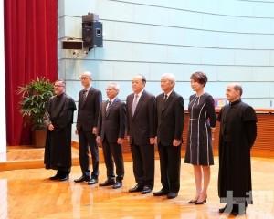 李宏信出任中級法院法官