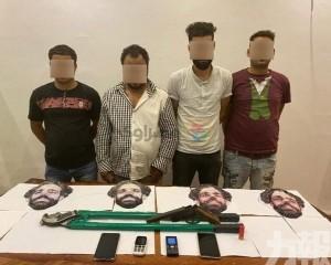 埃及劫匪戴沙拿面具犯案被捕