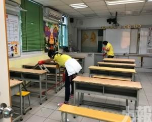學生錯峰上課 後備口罩充足