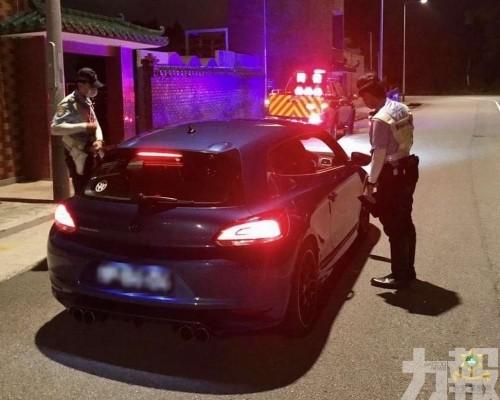 查335人32車檢控兩宗交通違例