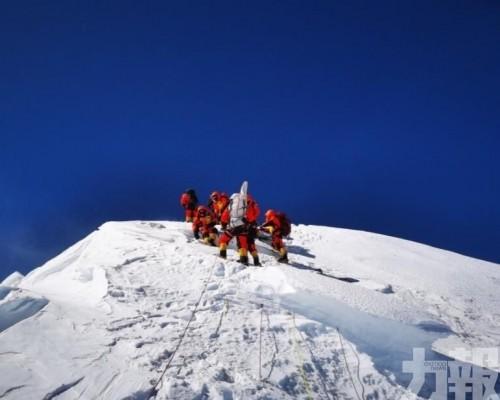 中國測量隊再登頂珠穆朗瑪峰