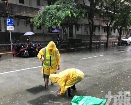 市政署啟動應變機制加強雨水疏導