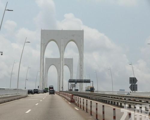 多處道路跨海大橋分段實施