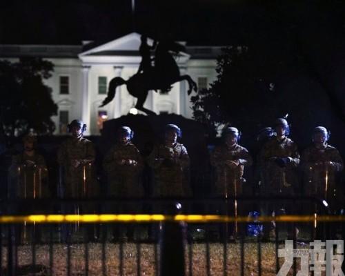1,600軍人抵華盛頓附近戒備
