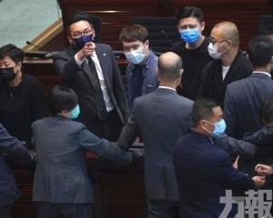 香港立法會通過國歌條例草案
