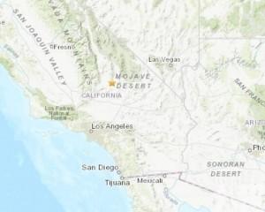 加州發生5.5級淺層地震
