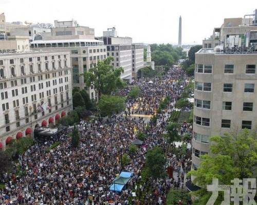 華盛頓示威多日來最大規模