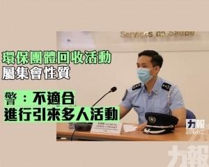 警:不適合進行引來多人活動