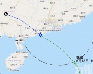 香港下午2時至4時改發三號強風信號