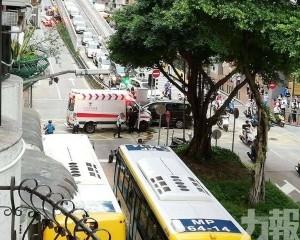 6人輕傷送院 包括2名救護員