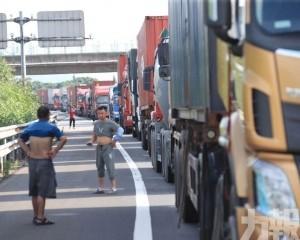 同一條高速路再發生危化品車事故