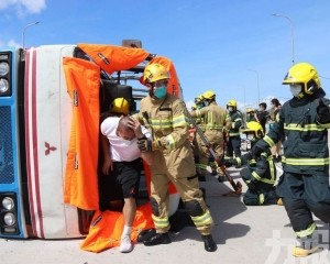 15名傷者待救