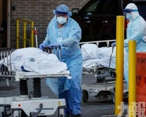 路透:新冠病毒每18秒殺一人
