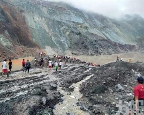 緬甸翡翠礦區嚴重塌方