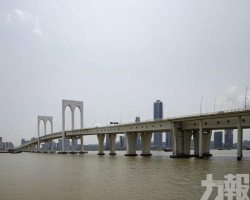 本周五六西灣大橋臨時交通安排
