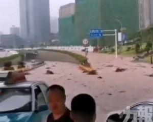重慶洪災引發多處山泥傾瀉