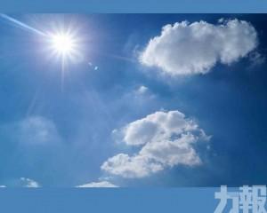 廣東部分地區最高氣溫達39℃