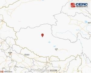 西藏那曲市發生6.6級地震
