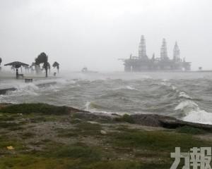 美國德州遭遇今年首個颶風