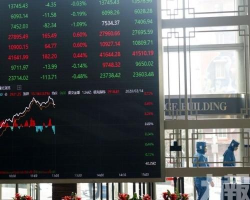內地股市高收逾1%
