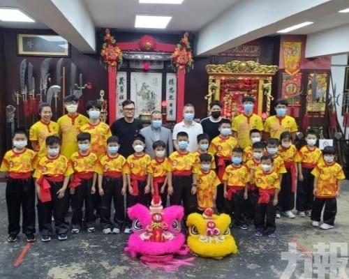 小朋友認識中國傳統獅藝