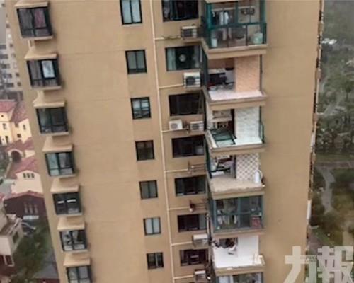 台州老人關窗 連人帶窗吹落街跌死