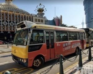 「葡京酒店」巴士站8月7日暫停使用