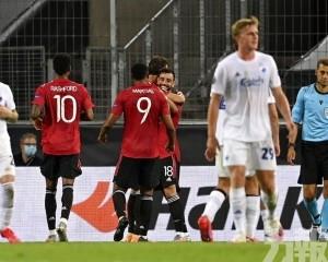 曼聯挫哥本哈根闖歐霸盃4強