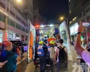 消防局:疑冷氣機機件故障引致