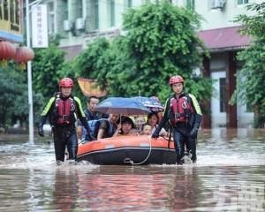 四川發山洪災害預警最高級別 逾6萬人急轉移