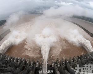 三峽水庫今迎建庫最大洪水