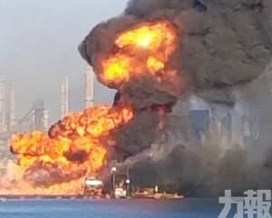 美國挖泥船撞天然氣管爆炸2死2失蹤