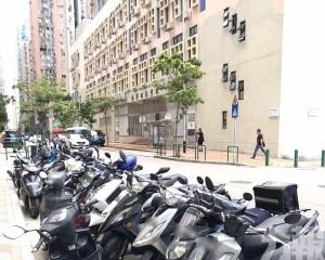 規範電單車垂直並列停泊