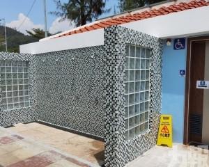 黑沙海灘公廁旁增建沖身區