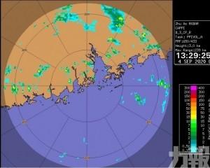 黃色暴雨警告下午1時30分發出