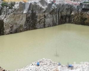 石排灣積水地段回填料年底完工